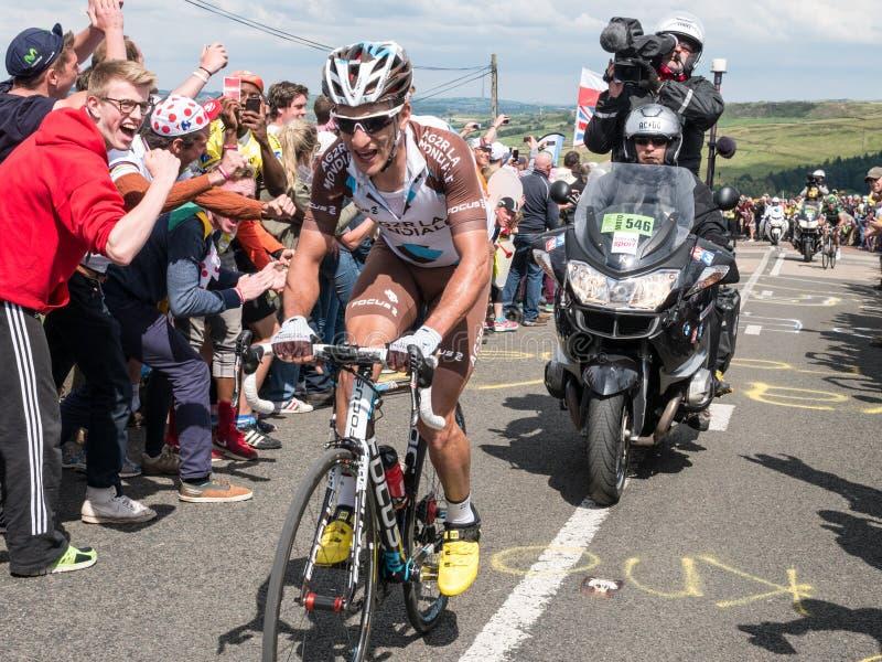 Tour de France 2014, Yorkshire fotografia de stock royalty free