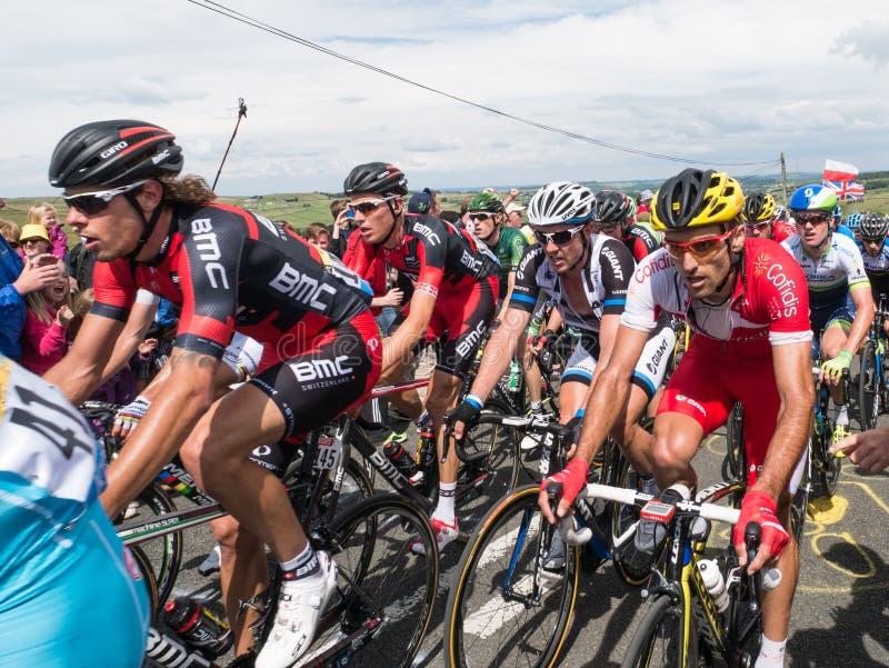 Tour de France 2014, Yorkshire fotos de stock