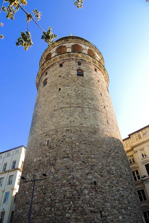 Tour de Galata à Istanbul photographie stock