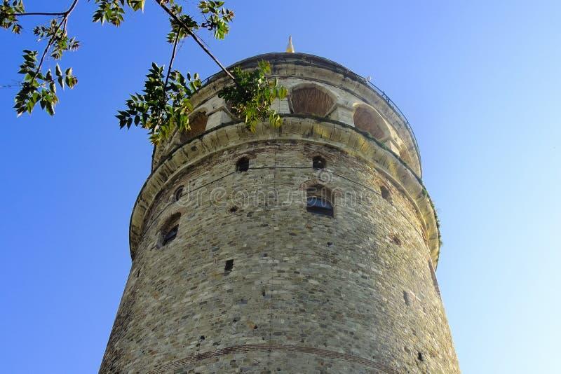 Tour de Galata à Istanbul image libre de droits