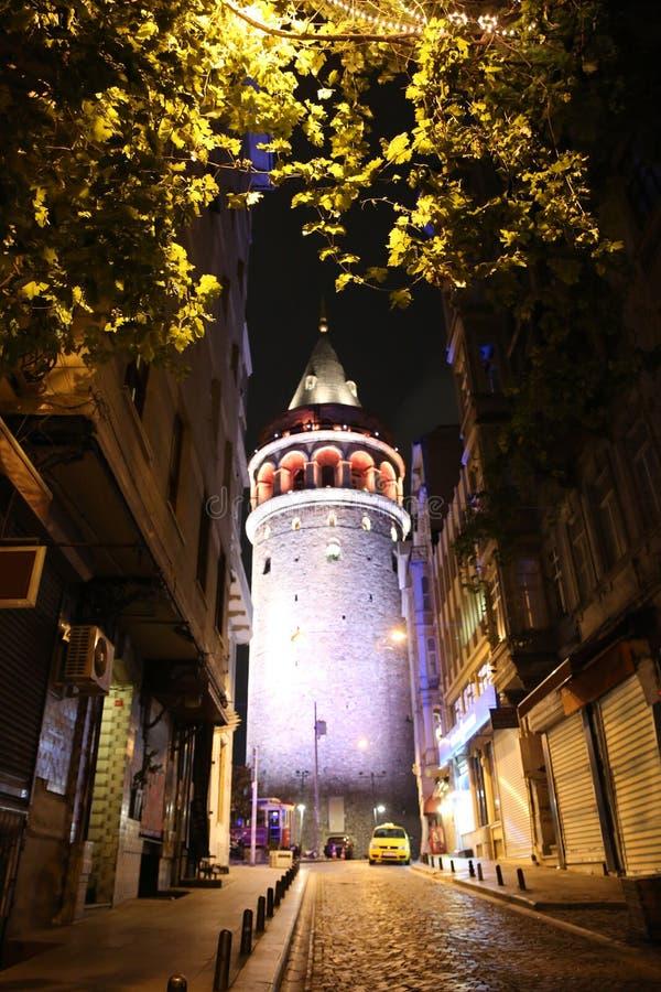 Tour de Galata à Istanbul images stock