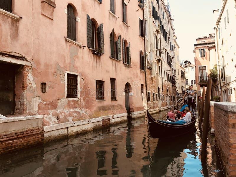Tour de gondole ? Venise Italie photo stock