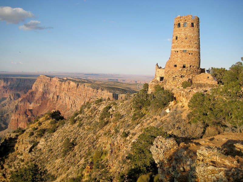 Tour de guet de vue de désert (Arizona, Etats-Unis) photos stock