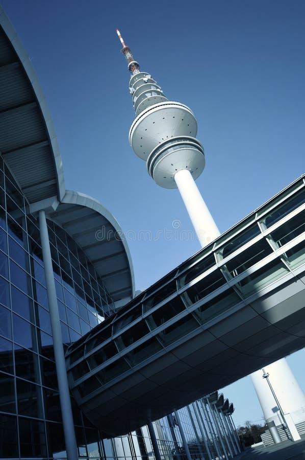 Tour de Hambourg TV photographie stock libre de droits