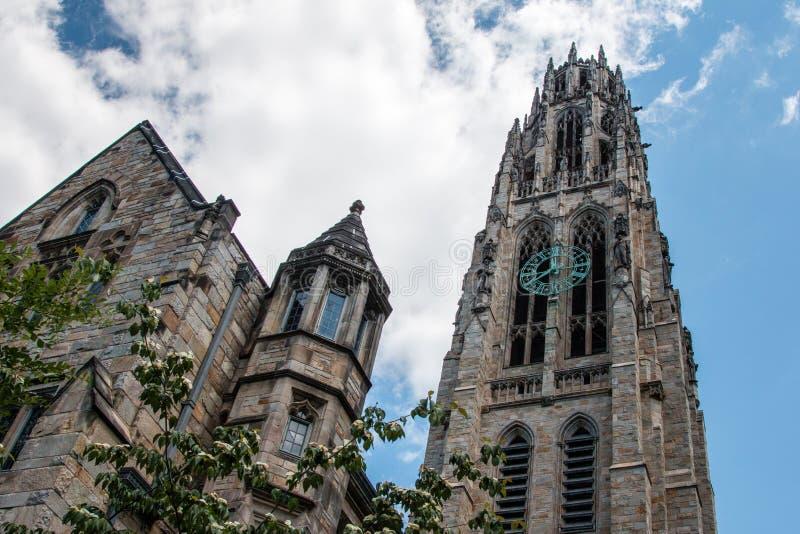 Tour de Harkness, Yale University image libre de droits