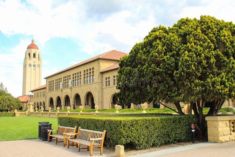Tour de Hoover d'Université de Stanford image libre de droits