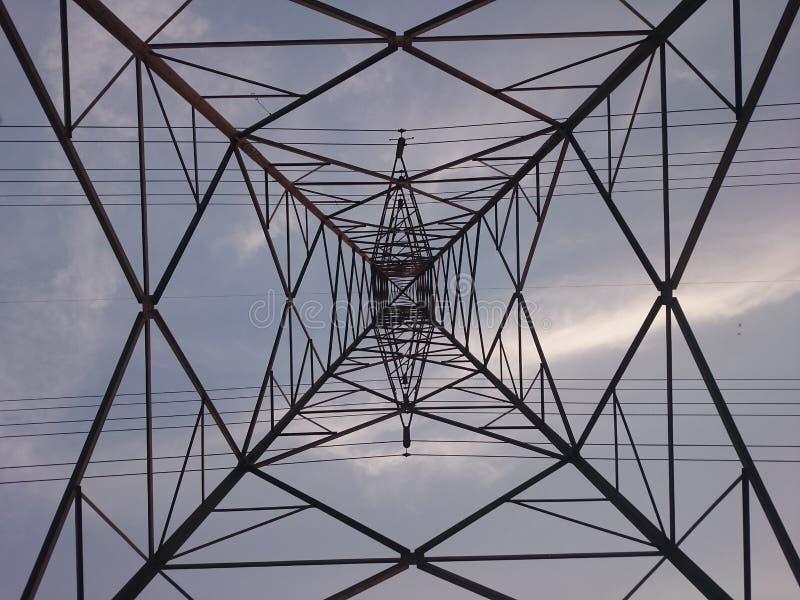 Tour de l'électricité photo libre de droits