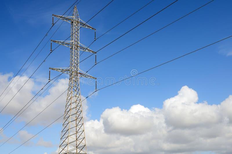 Tour de l'électricité photo stock