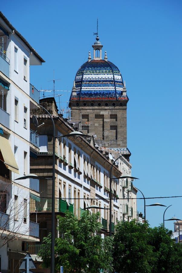 Tour de l'hôpital de Santiago, Ubeda, Espagne. photos libres de droits