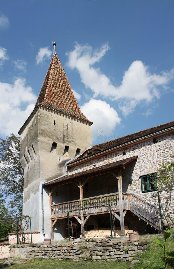 Tour de la défense dans une citadelle image stock