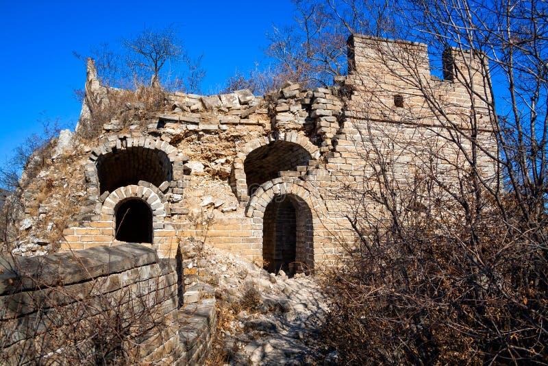 Tour de la Grande Muraille de la Chine photos stock