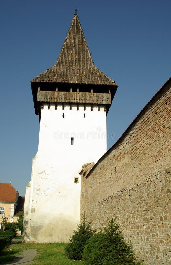 tour de la Roumanie de medias de forkesch photo libre de droits