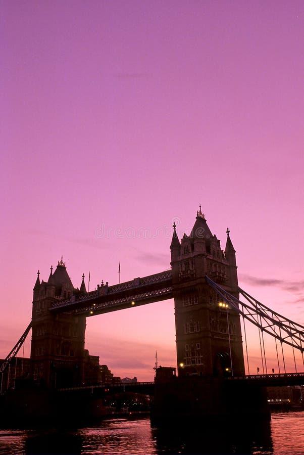 tour de Londres de passerelle photographie stock libre de droits