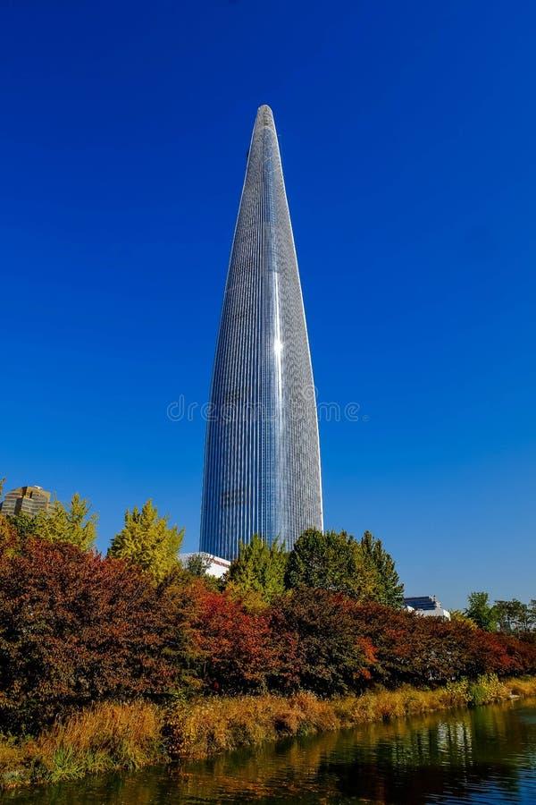 Tour de Lotte en automne images stock