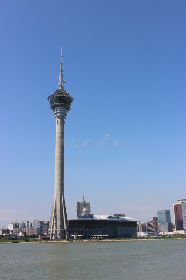 Tour de Macao images libres de droits