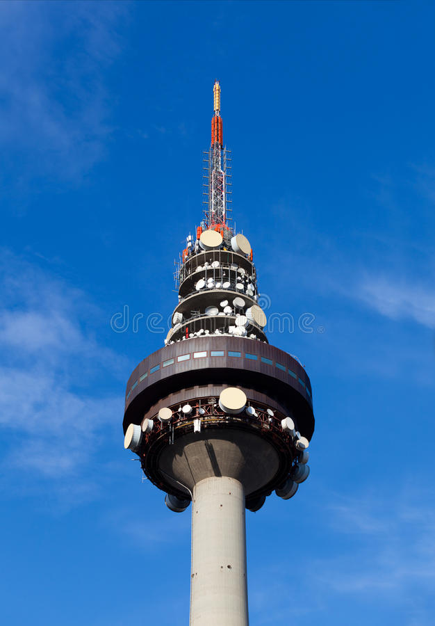 Tour de Madrid TV images libres de droits