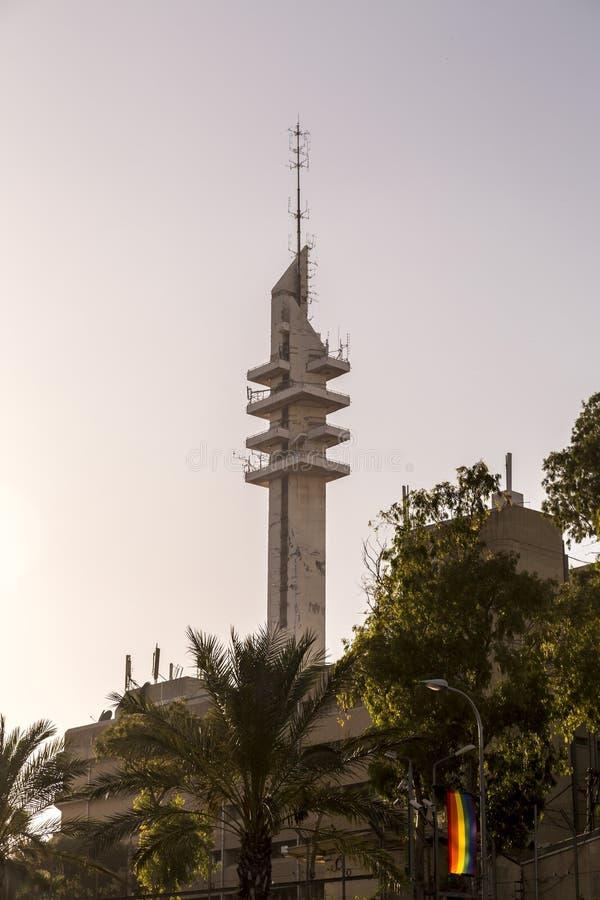 Tour de Marganit, un point de repère significatif de Tel Aviv photo stock
