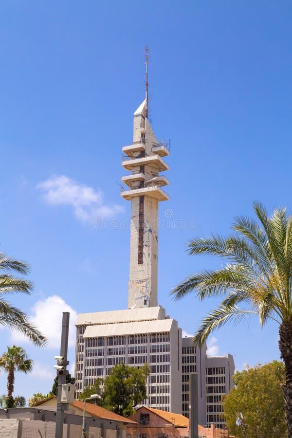 Tour de Marganit, un point de repère significatif de Tel Aviv image stock