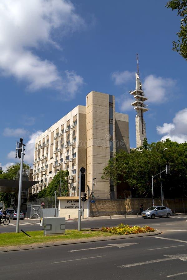 Tour de Marganit, un point de repère significatif de Tel Aviv images stock