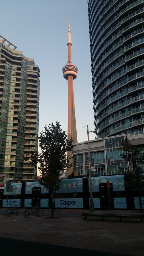 Tour de NC - zone centrale Toronto photos stock