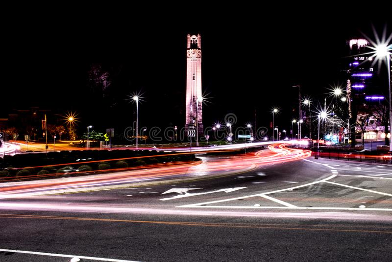 Tour de NCSU Bell photographie stock libre de droits