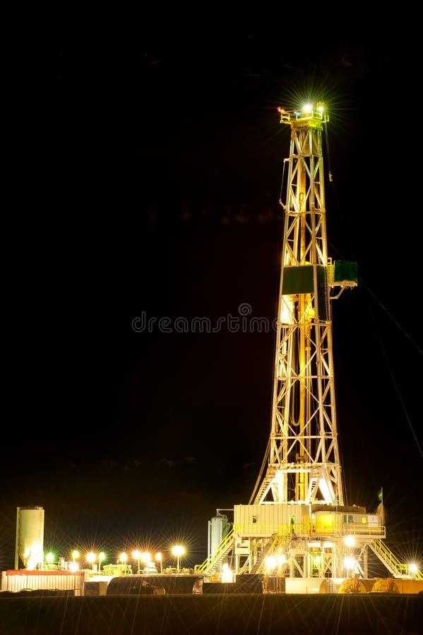 Tour de pétrole photo libre de droits