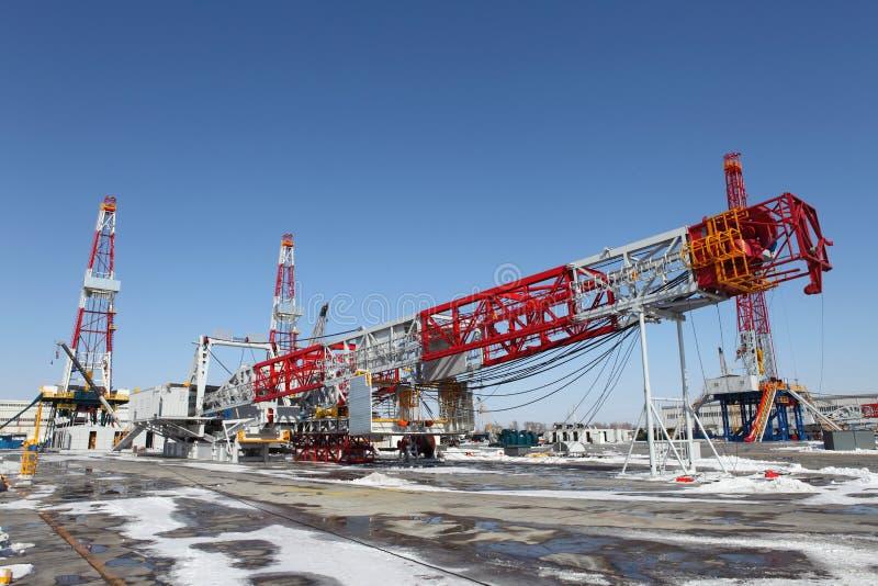 Tour de pétrole images stock