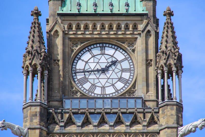 Tour de paix officiellement : la tour de la victoire et de la paix des bâtiments du Parlement photographie stock libre de droits