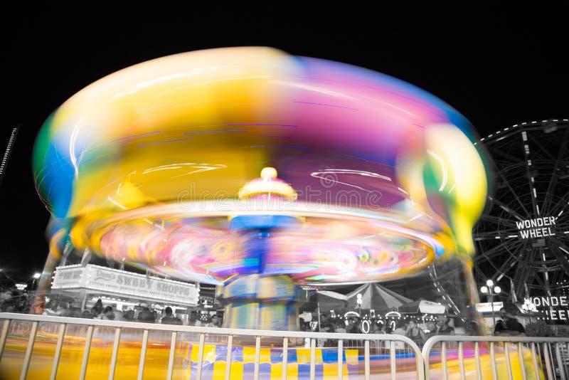 Tour de parc d'attractions de Coney Island photos libres de droits