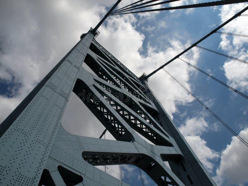 Download Tour De Passerelle De Benjamin Franklin Image stock - Image du passerelle, nuages: 9700791