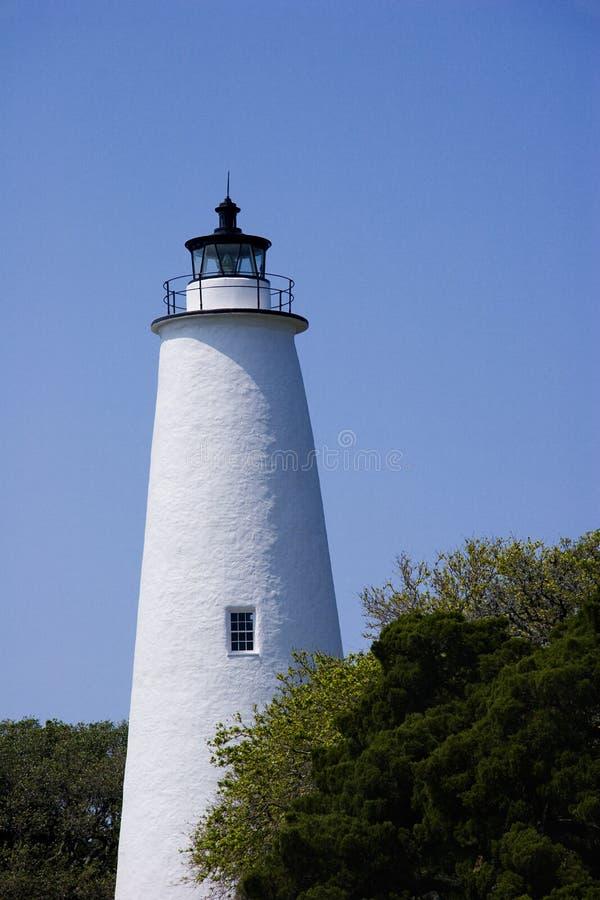Tour de phare d'Ocracoke photos libres de droits