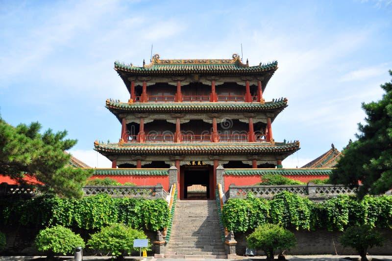 Tour de Phoenix, palais impérial de Shenyang, Chine image libre de droits