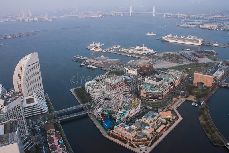 Tour de point de repère, Yokohama Japon, Minato Mirai photos stock