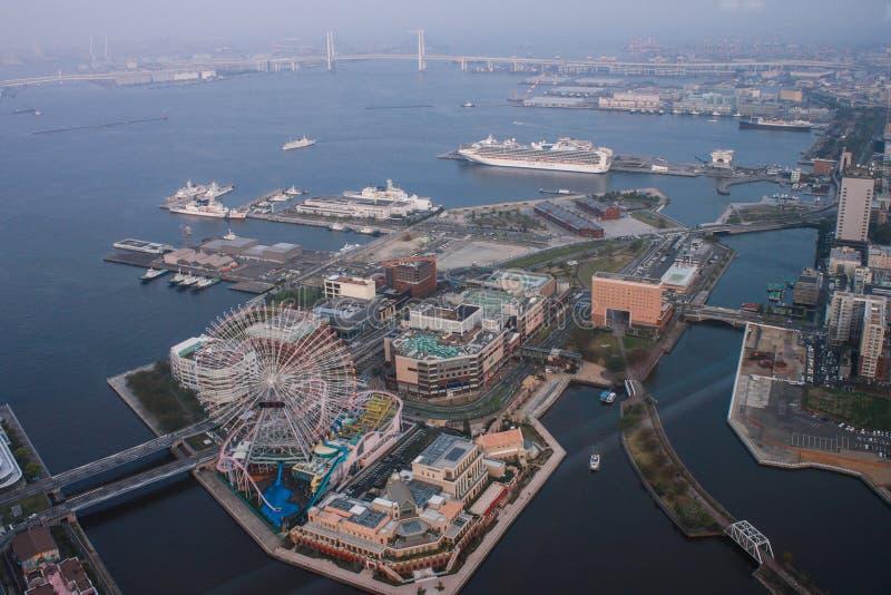 Tour de point de repère, Yokohama Japon, Minato Mirai images libres de droits
