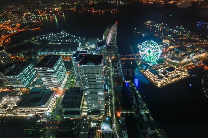 Tour de point de repère, Yokohama Japon, Minato Mirai photos libres de droits