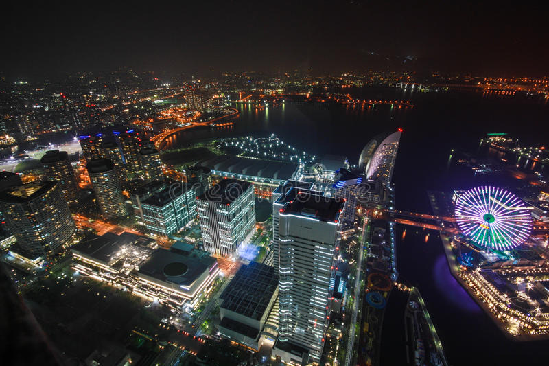 Tour de point de repère, Yokohama Japon, Minato Mirai photo libre de droits