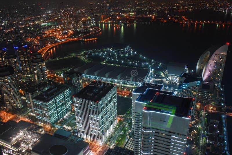 Tour de point de repère, Yokohama Japon, Minato Mirai photographie stock libre de droits
