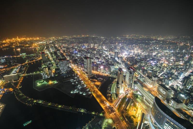 Tour de point de repère, Yokohama Japon, Minato Mirai photographie stock