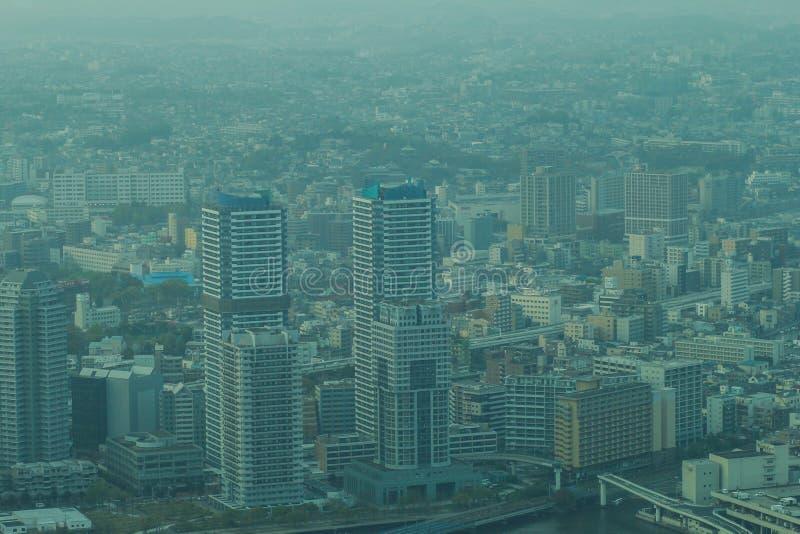 Tour de point de repère, Yokohama Japon, Minato Mirai image stock