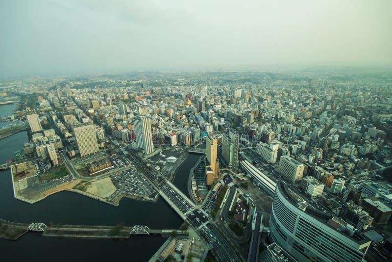 Tour de point de repère, Yokohama Japon, Minato Mirai photo stock