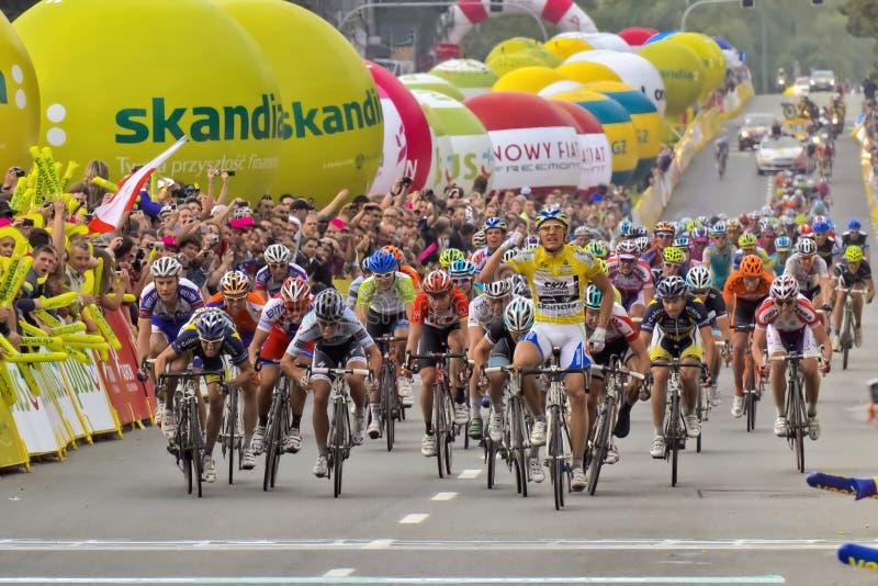 Tour De Pologne 2011 Editorial Stock Photo