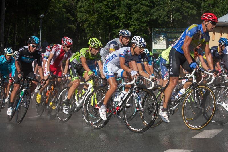 Tour de Pologne 2012 royalty free stock photo