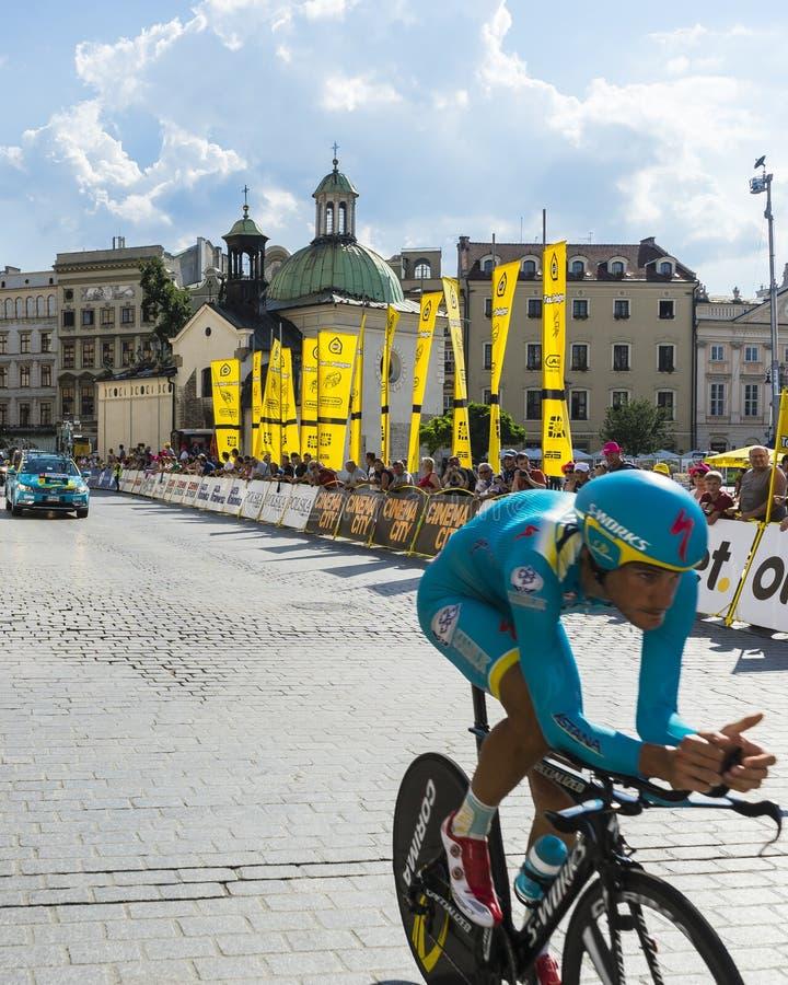Tour DE Pologne 2014 stock fotografie