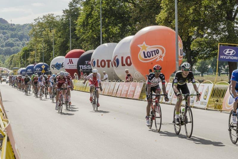 Tour DE Pologne 2017 royalty-vrije stock afbeeldingen