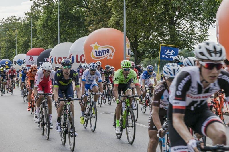 Tour DE Pologne 2017 royalty-vrije stock foto's
