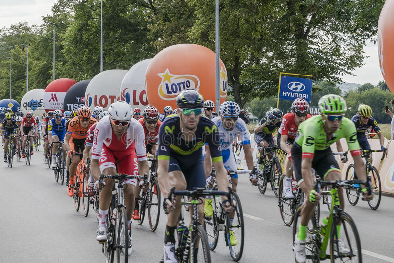 Tour DE Pologne 2017 royalty-vrije stock fotografie