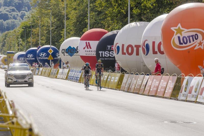 Tour DE Pologne 2017 stock fotografie