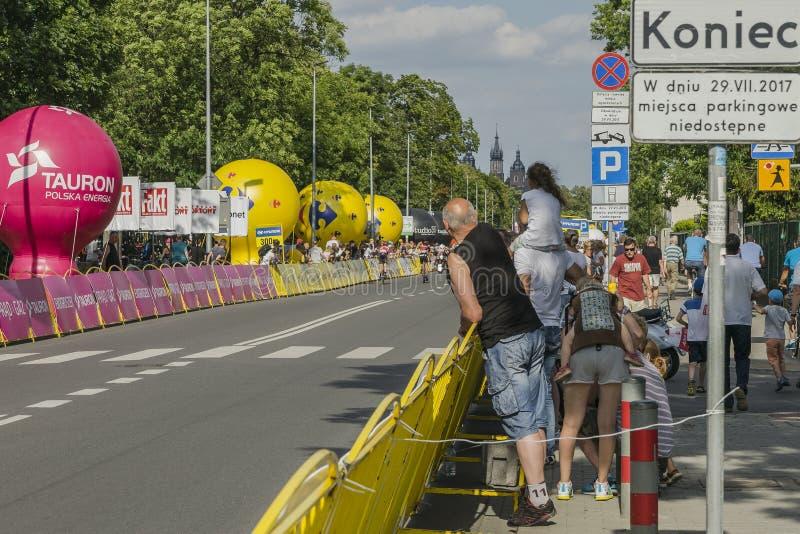 Tour DE Pologne 2017 royalty-vrije stock afbeelding