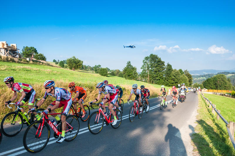Tour de Pologne 2015 royalty free stock photos