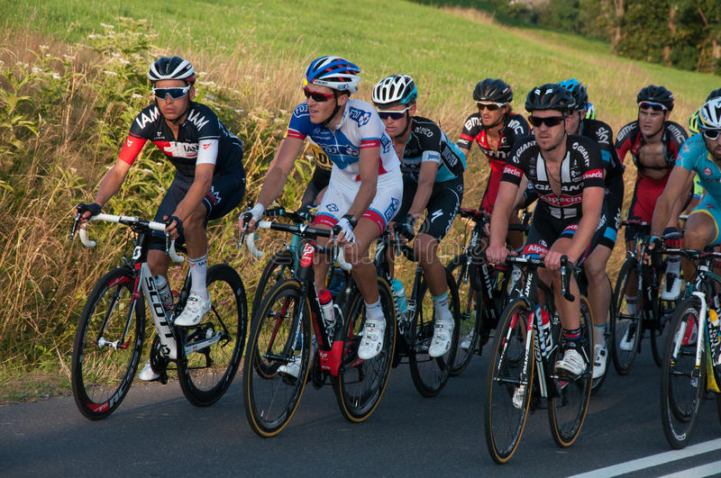 Cycle Tour de Pologne 2015 royalty free stock photography